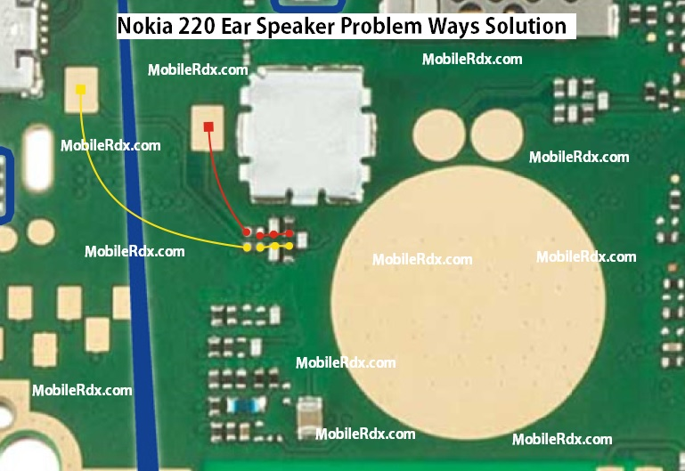 Nokia 220 Ear Speaker Ways Problem Solution