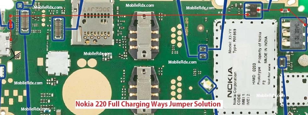 Nokia 220 Full Charging Ways Problem Solution