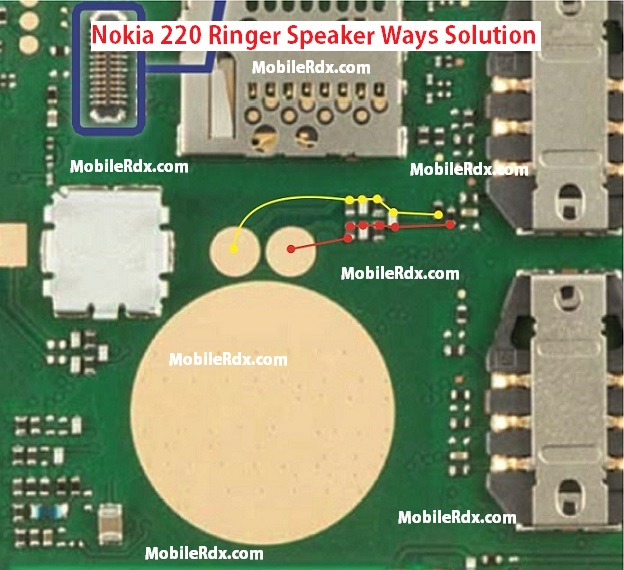 Nokia 220 Ringer Speaker Ways problem Jumper Solution