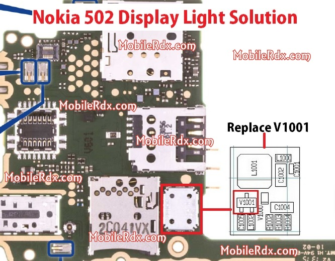 Nokia 502 Display Light Problem Solution - Nokia Asha 502 Display Light Solution Problem Repair