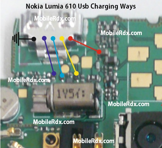 Nokia Lumia Usb Charger Nokia Lumia 610 Usb Charging