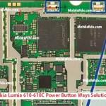 Nokia Lumia 610C Power Button Ways Solution Jumper