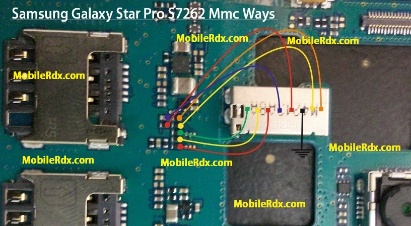 Samsung GT-S7262 Mmc Memory Card Ways Jumpers Solution