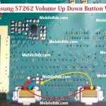 Samsung S7262 Volume Up Down Button Ways Jumper Solution
