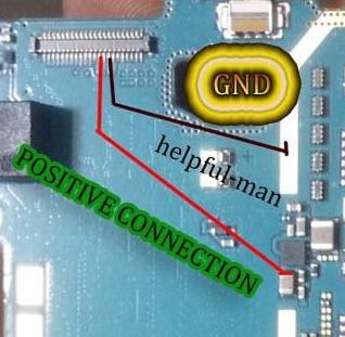 Samsung Young 2 SM G130H Display Light Ways Solution