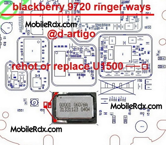 blackberry 9720 speaker ringer ways problem