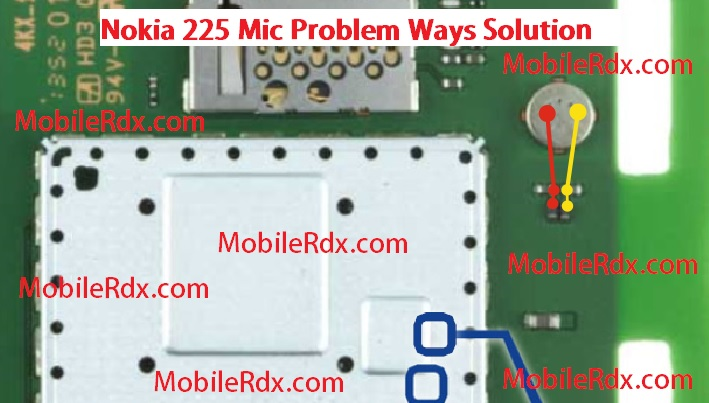 nokia 225 mic ways problem jumper solution