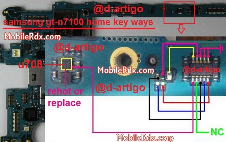 samsung gt n7100 note 2 home key ways1 - Samsung GT-N7100 Home Button Ways Not Working Solution