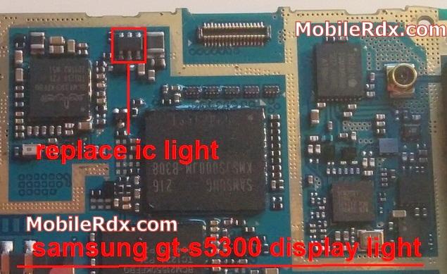 samsung gt-s5300 display light problem solution