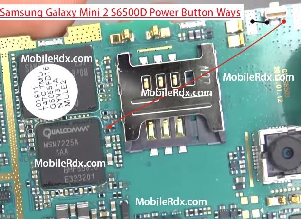 samsung gt s6500d power button ways solution