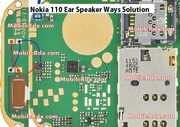 Nokia 110 Ear Speaker Ways Problem Jumper Solution
