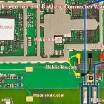 Nokia Lumia 610 Battery Connecter Ways