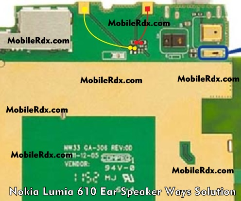 Nokia Lumia 610 Earpiece Speaker Ways Problem Solution
