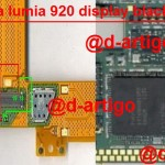 Nokia Lumia 920 Display Ways White Lcd Solution