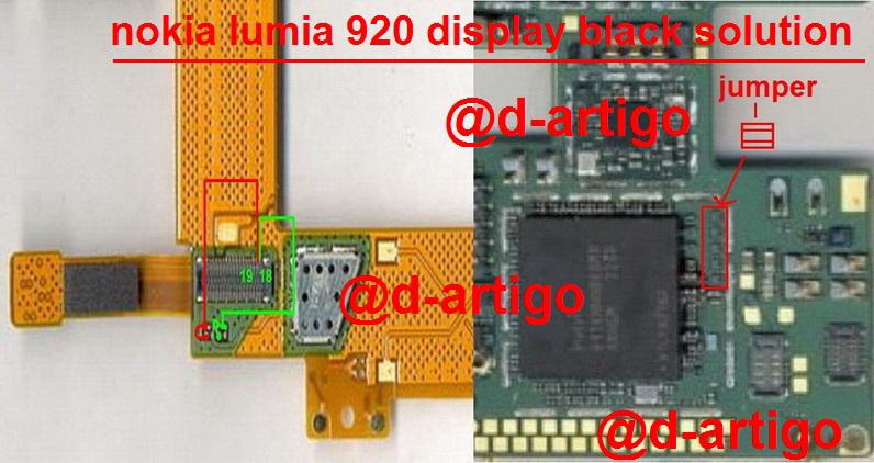 Nokia Lumia 920 Display Ways White Lcd Solution