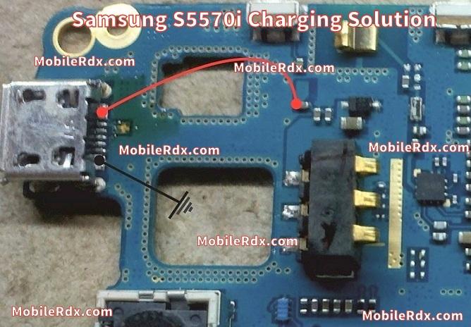 Samsung GT-S5570I Charging Ways Solution