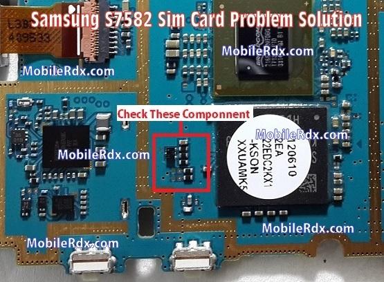 Samsung GT-S7582 Sim Card Problem Repair Solution