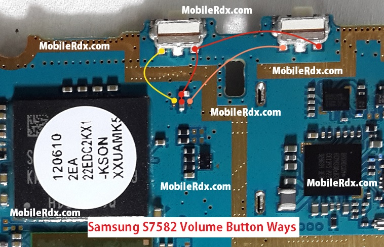 Samsung-GT-S7582-Volume-Up-Down-Button-Jumper