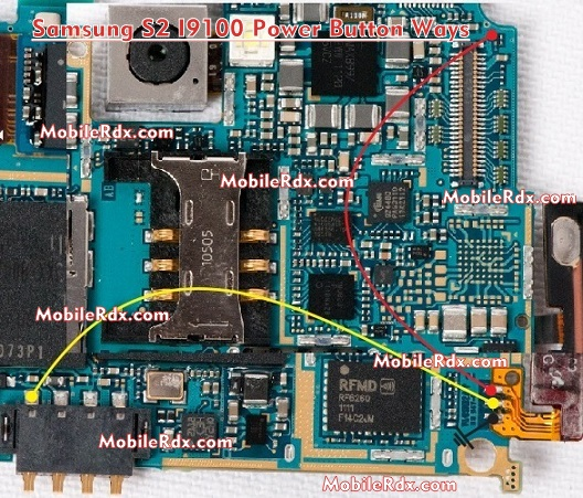 Samsung Galaxy S2 I9100 Power Button Ways Solution