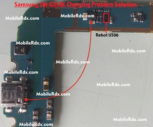 Samsung SM-G350E Charging Problem Ways Solution Jumper