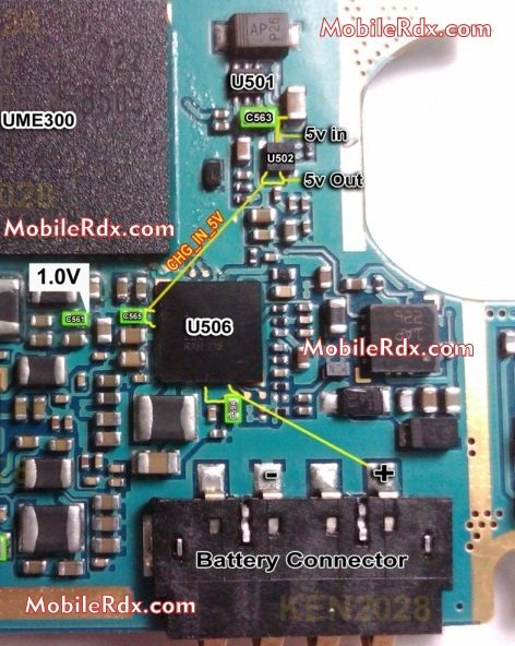 Samsung Galaxy S3 I9300 Charging Solution Jumper Ways