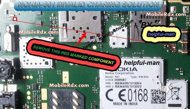 Nokia 501 Invalid Charging Problem Ic Ways Solution