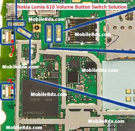 Nokia Lumia 610 Volume Up Down Button Ways Problem Solution
