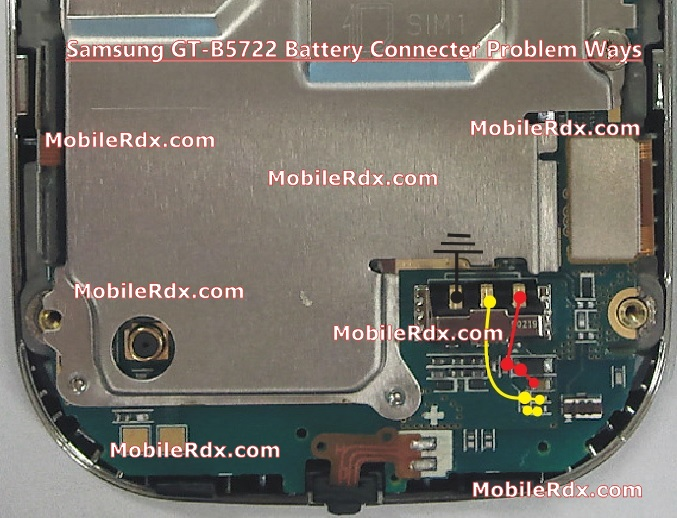 Samsung GT B5722 Battery Connecter Problem Ways