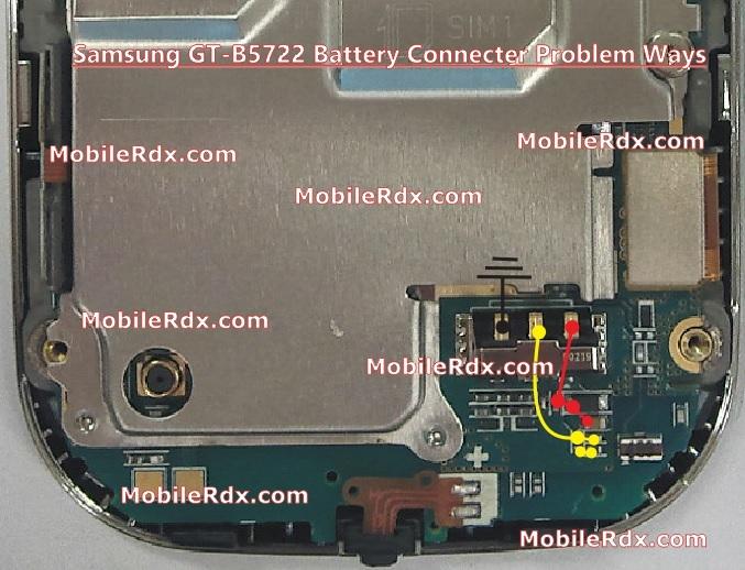 Samsung GT-B5722 Battery Connecter Problem Ways