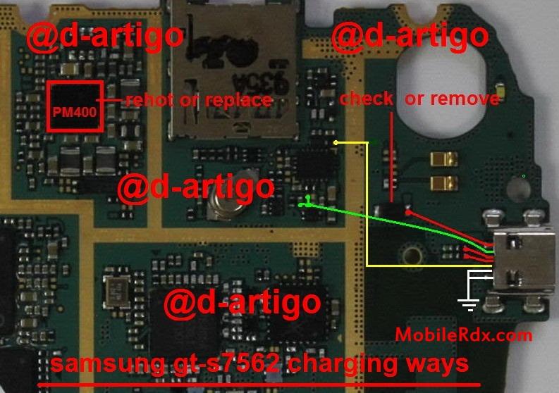 Samsung Gt S7562 Charging Ways Usb Jumper