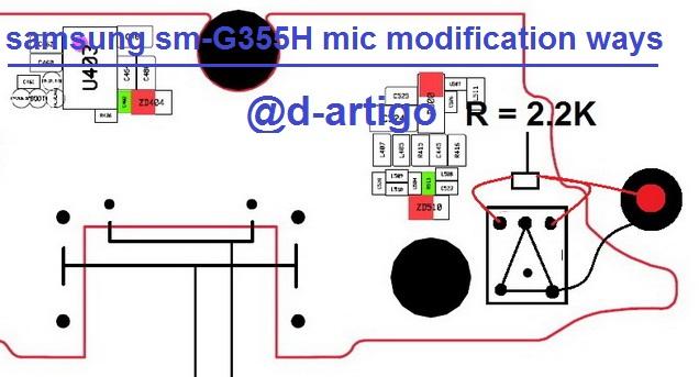 Samsung Sm-G355h Mic Modification Ways