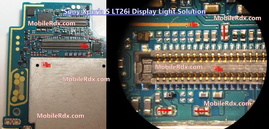 Sony Xperia S LT26i Display Lcd Light Problem Solution