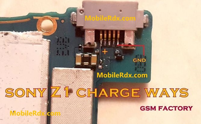 Sony Xperia Z1 Charging Ways Problem Solution