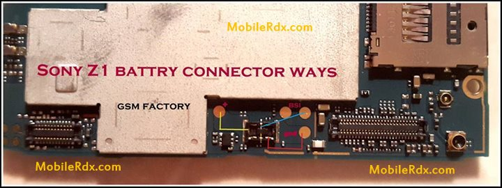 Sony Z1 Battery Connecter Jumper Ways