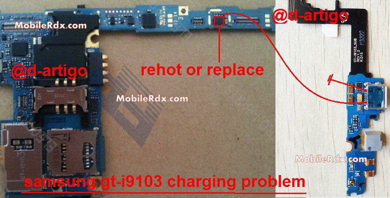 samsung gt i9103 charging ways problem solution