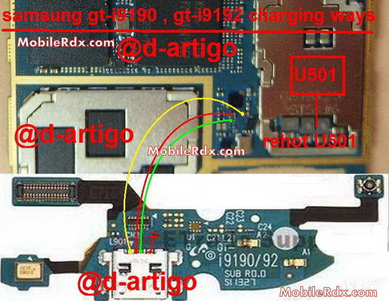samsung gt i9190 charging ways solution