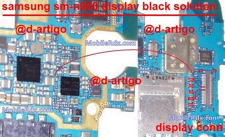 samsung n900 s-black display solution jumper
