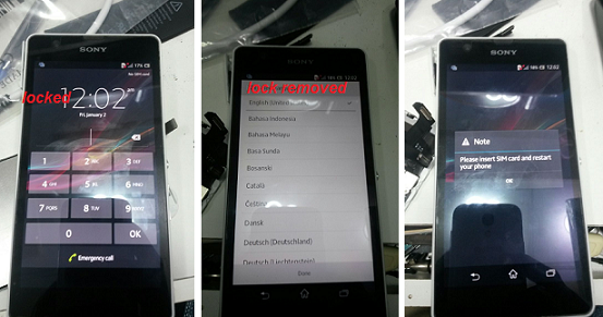 Remove Pattern Lock From All Sony Xperia Without Flash
