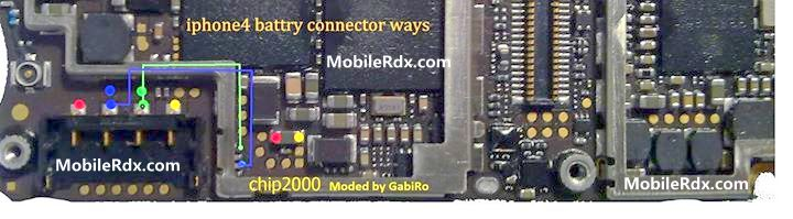 Iphone 4 Battery Connecter Problem Jumper Solution - IPhone 4 Battery Connecting Line Problem Ways
