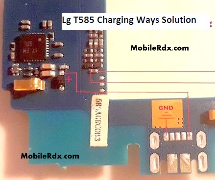 Lg T585 Charging Ways Charge Solution - LG T585 Charging Problem Repair Solution
