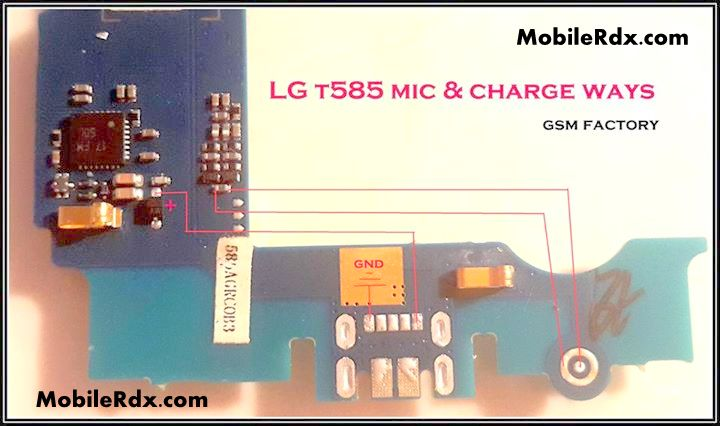 Lg T585 Mic And Charging Problem Ways Solution - LG T585 Mic Ways Problem Repair Solution