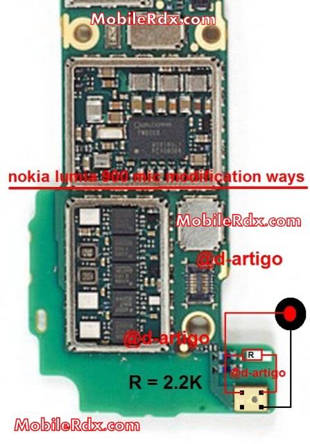 Nokia Lumia 900 Mic Solution Modification Ways