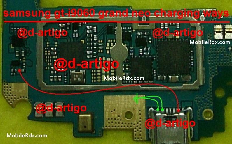 Samsung GT-I9060 Charging Ways Solution Problem Jumper