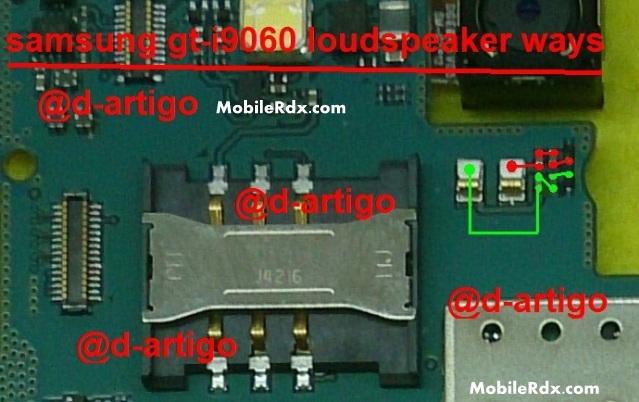 Samsung GT I9060 Ringer Speaker Ways Problem JUmper