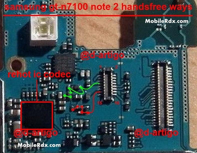 Samsung GT-N7100 Speaker Ways Ringer Problem Solution