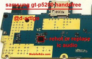 Samsung GT-P5200 Handsfree Problem Headphone Solution
