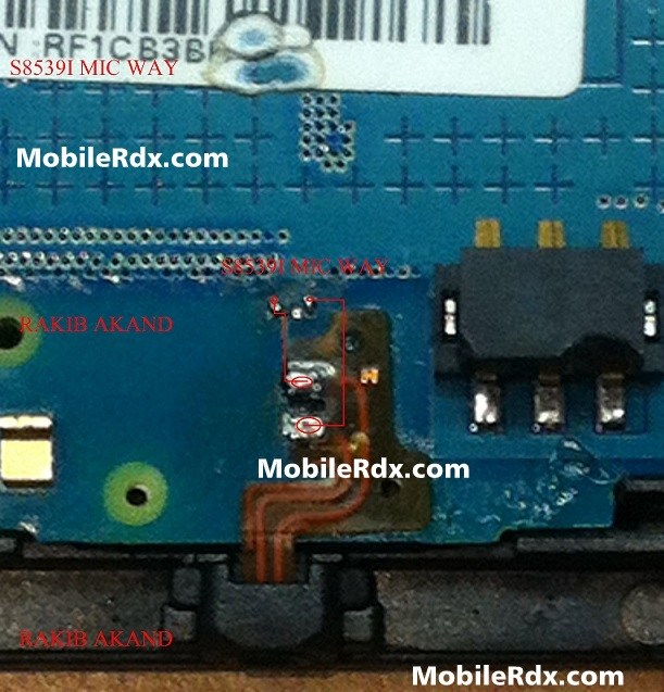 Samsung GT S5839i Mic Ways Solution Jumper - Samsung Galaxy Ace S5839i Microphone Jumper Ways