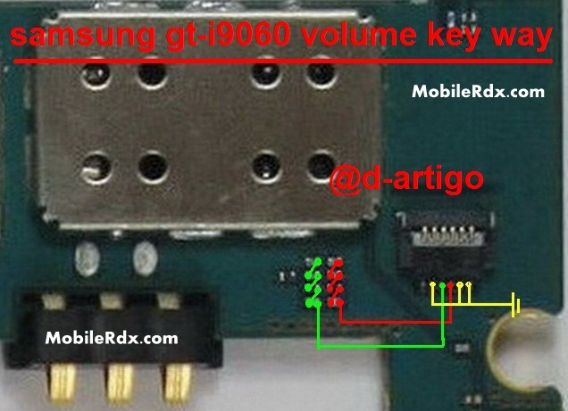 Samsung Galaxy Grand Neo I9060 Volume Keys Jumper Problem Ways
