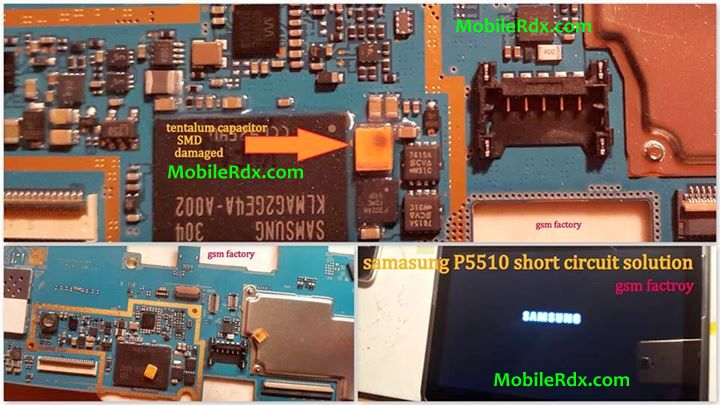 Samsung Galaxy Tab 2 P5110 Short Problem Solution - Samsung Galaxy Tab 2 P5510 Short Power Problem Solution