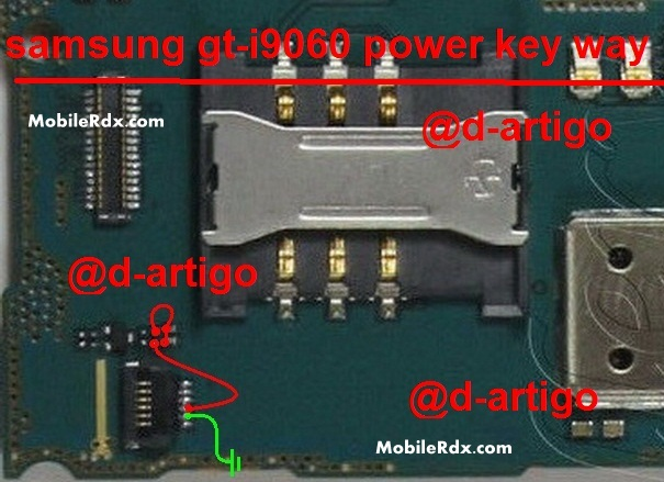 Samsung Grand Neo I9060 Power Key Ways Button Solution